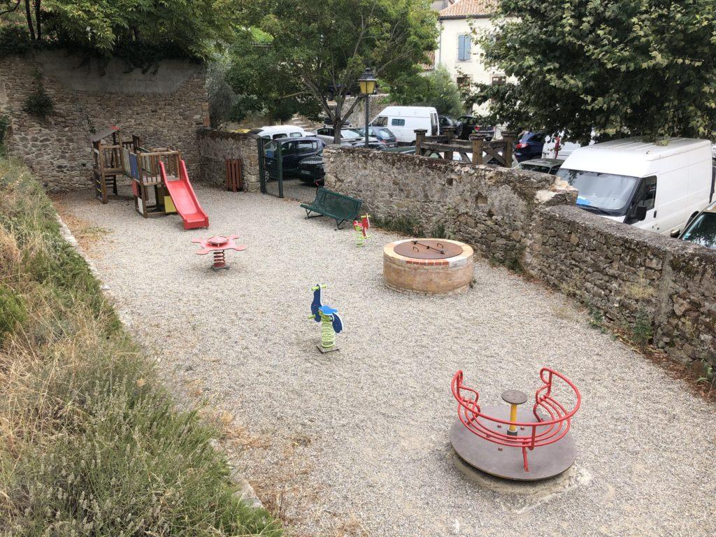 Montolieu playground
