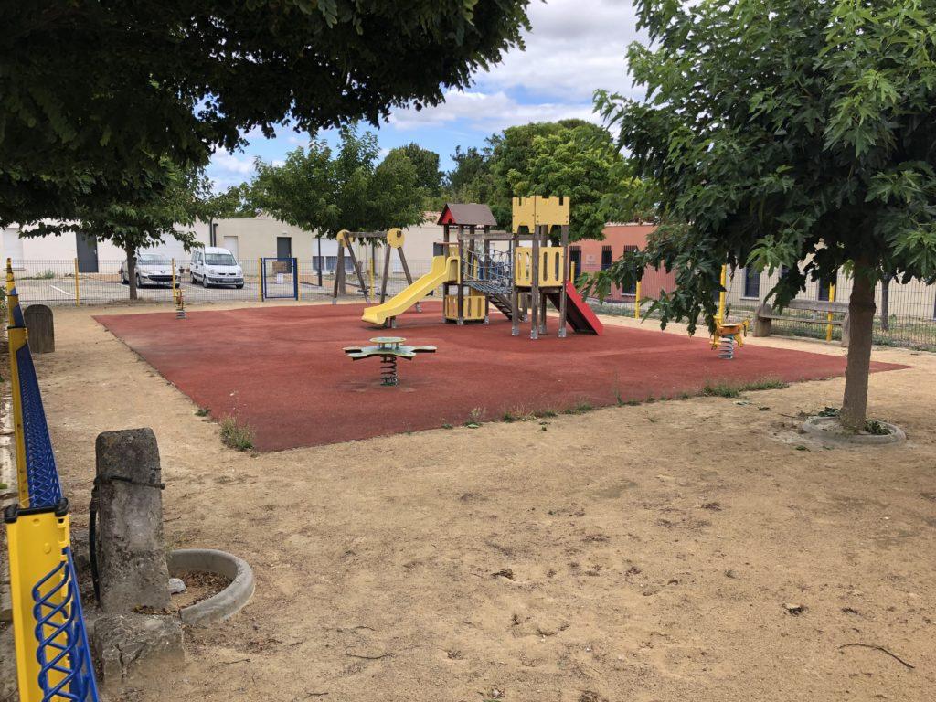 Villesequelande playground